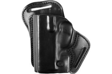 Blackhawk Leather Check-Six Holster, Left, Black 420723BKL