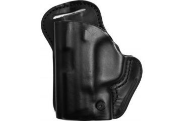 Blackhawk Leather Check-Six Holster, Left Hand, Black - S&W MP 9/40 Compact