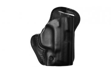 BlackHawk Leather Check-Six Holster, Right Hand, Black - S&W J Frame
