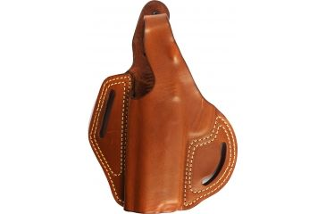 Blackhawk Leather Cutaway Belt Holster, Brown, 1911 Commander, Left Hand - 421305BN-L