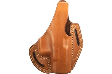 Blackhawk Leather Cutaway Belt Holster, Brown, Glock 26, 27, 33, Right Hand - 421303BN-R