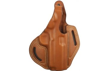 Blackhawk Leather Cutaway Belt Holster, Brown, 1911 Commander, Right Hand - 421305BN-R