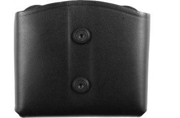 Blackhawk Leather Dual Magazine Pouch, Black, Double Stack 420903BK