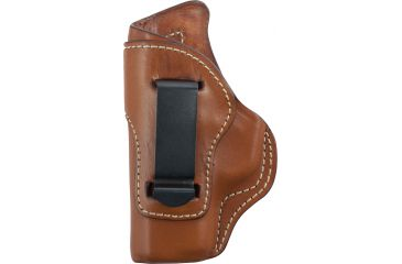 Blackhawk Leather Inside-the-Pants w/Clip Holster, Brown, Left Hand - Kahr CW9/CW40/P9/P40/K9/K40