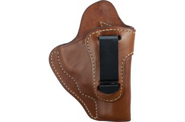 Blackhawk Leather Inside-the-Pants w/Clip Holster, Brown, Right Hand - S&W J Frame