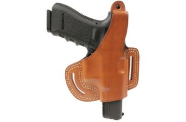 Blackhawk Leather Slide w/Thumb Break Holster, S&W MP all models, Left Hand