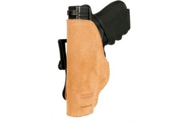 BlackHawk Leather Tuckable Holster, Brown, Glock 30/ SW MP Compact, Left Hand 421610BN-L
