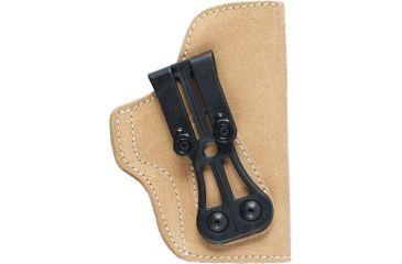 Blackhawk Leather Tuckable Holster, Brown, Right 421606BNR
