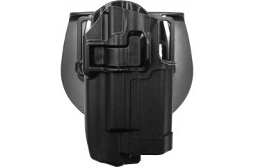 BlackHawk CQC SERPA Holster, Belt Loop, Paddle, Right, Black 410500BKR