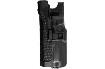 Blackhawk Serpa Level 3 Duty Holster, Basketweave, Left Hand, Glock 20, 21/S&W M&P .45
