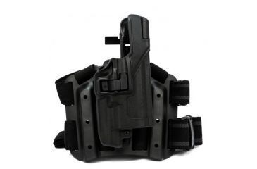 Blackhawk Serpa Tactical Level 3 Holster, Black, Right Hand, Glock 17, 22, 31, 430700BK-R