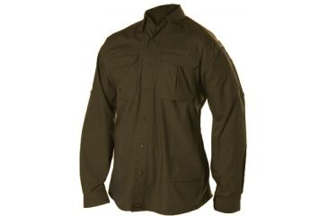 Blackhawk Light Weight Tactical Shirt Long Sleeve Chocolate Brown Large 88ts01cb Lg