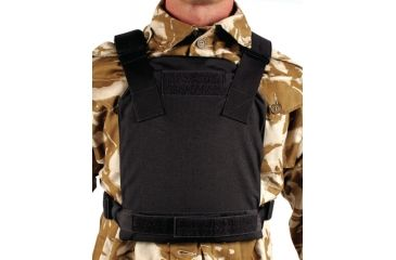 Blackhawk Low Visibility Plate Carrier, Large, Black 32PC12BK
