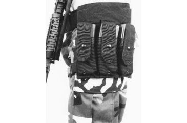 BlackHawk M-16 HIP POUCH (HOLDS 3) BLACK 511602BK