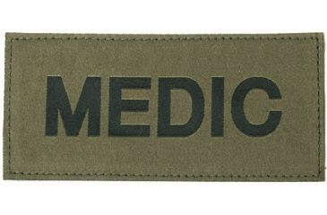 Blackhawk! Black on Green Medic Patch