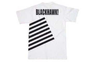 BlackHawk Men's Memory T-Shirt w/ Gray Flag, Black, Medium 90GT00BK-MD
