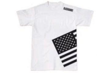 BlackHawk Men's Memory T-Shirt w/ Gray Flag, Black, Small 90GT00BK-SM