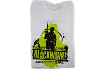 BlackHawk Men's Patrol T-Shirt, White, 2XL 90GT01WH-2XL