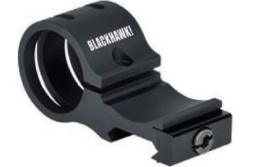 BlackHawk Offset Flashlight Rail Mount, Black 71RM01BK