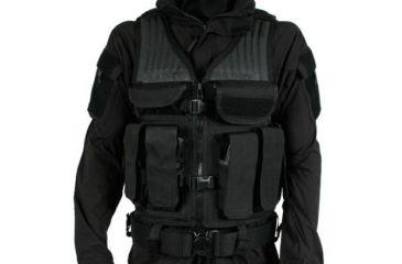 BlackHawk Omega Elite Tactical Vest #1, Size 191, Black