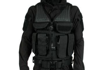 Blackhawk Omega Elite Tactical Vest 1, Size 191, Black 30EV03BK