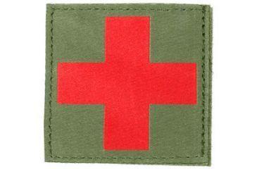 Blackhawk Red Cross ID Patch, Olive Drab