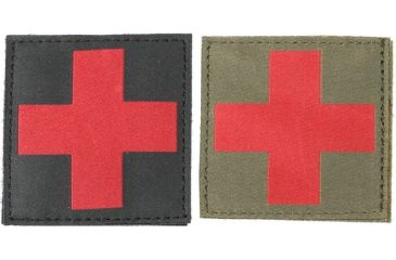 Blackhawk Red Cross ID Patches