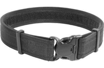 BlackHawk Reinforced Web Duty Belt w/Loop, Black, Web, Small