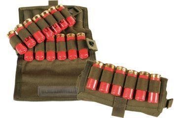 BlackHawk S.T.R.I.K.E. 18 Round Vertical Shotgun Ammo Pouch, Speed Clip - Olive Drab