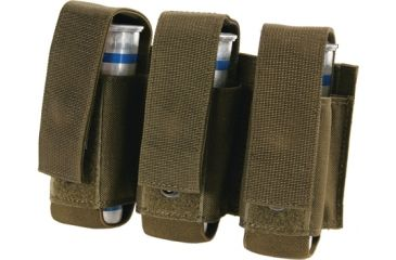 Blackhawk S.T.R.I.K.E. 40MM Grenade Pouch (Holds 3) w/Speed clips, Color - Olive Drab, 38CL23OD