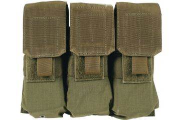 BlackHawk S.T.R.I.K.E. Gen-4 MOLLE M4/M16 Triple Mag Pouch, Olive Drab, Imported 37CL04OD