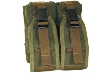 BlackHawk S.T.R.I.K.E. Gen-4 MOLLE System M16 Double Mag Pouch Upside Down, Coyote Tan 37CL67CT