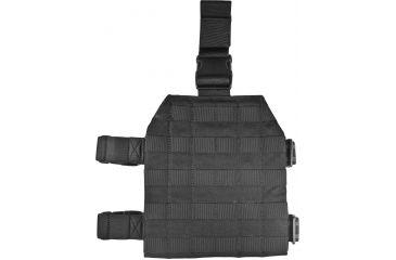 BlackHawk S.T.R.I.K.E. Gen4 MOLLE System Drop Leg Platform, Black, Size 143/147 37CL39BK