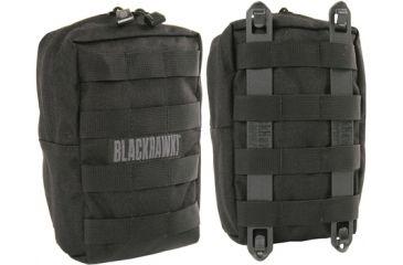 BlackHawk S.T.R.I.K.E. Upright GP Pouch w/ Speed Clip - Black 38CL52BK
