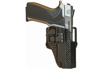 Blackhawk SERPA CQC Belt Loop/Paddle Holster, Right Hand, Carbon Black - S&W 5900/4000 - 410010BK-R