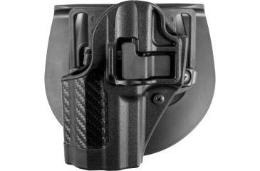 Blackhawk SERPA CQC Belt Loop/Paddle Holster, Left Hand, Carbon Black H&K P-30
