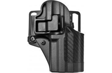 Blackhawk Serpa Cqc Belt Looppaddle Holster Right Hand Carbon Black H K P 30 410017bk R