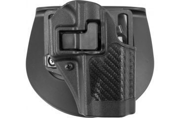 Blackhawk SERPA CQC Belt Loop/Paddle Holster, Right Hand, Carbon Black, Glock 38