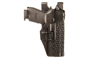 Blackhawk Serpa Level 3 Duty Holster for Sig 250DC, Basket Black, Left Hand 44H127BW-L