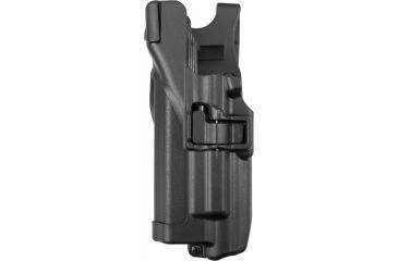 Blackhawk Serpa Level 3 Xiphos Duty Holster, Black, Left hand - Glock172231 - 44H500BK-L