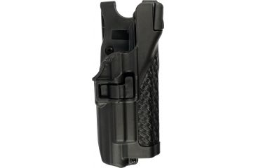 Blackhawk Serpa Level 3 Xiphos Light-Bearing Holster, Black, Basket, Right Hand - Glock 17/22/31