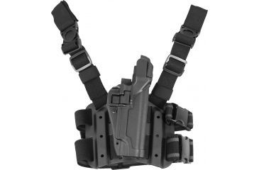 11-Blackhawk SERPA Tactical Level 3 Thigh Holster