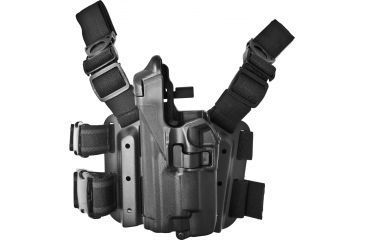 Blackhawk SERPA Tactical Level 3 Holster for Xiphos, Black, Left Hand - Sig 220/Sig 226