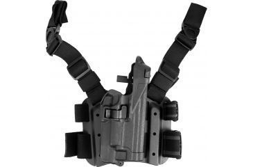 Blackhawk Serpa Tactical Level 3 Holster for Xiphos Black Right