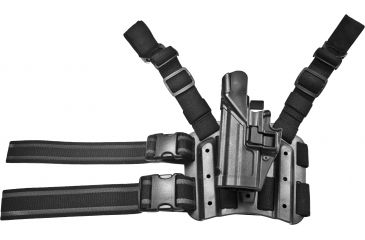3-Blackhawk SERPA Tactical Level 3 Thigh Holster