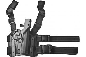 17-Blackhawk SERPA Tactical Level 3 Thigh Holster