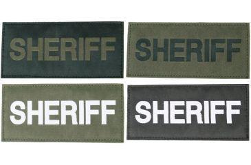 Blackhawk! Sheriff Patches