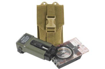 BlackHawk S.T.R.I.K.E. Compass/Strobe Pouch with Speed Clip, Coyote Tan 38CL38CT