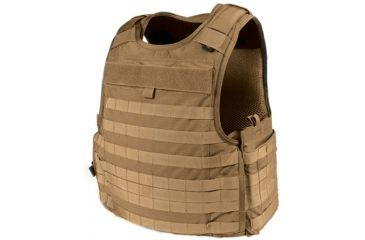 Blackhawk S.T.R.I.K.E. Cutaway Carrier Performance 3D Mesh Lining Armor, Color - Coyote Tan, Size - Medium, 32V602CT-CTS