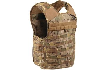 Blackhawk STRIKE Cutaway Carrier Slick Tactical Armor Carrier Vest, MultiCam, Small, Made in USA 32V401MC